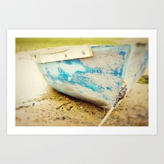 cape cod blue Art Print