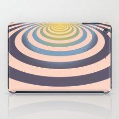 Circle around asymmetrically - Optical game iPad Case