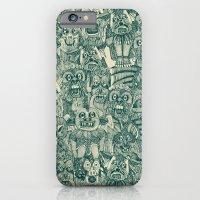gargoyles teal iPhone 6 Slim Case