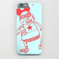 iPhone & iPod Case featuring villain by ana javier