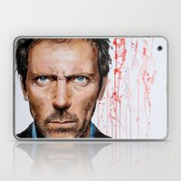 Hugh Laurie, House Laptop & iPad Skin