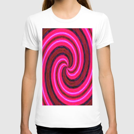 Abstract Pink Modern T-shirt