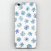Let it Snow iPhone & iPod Skin