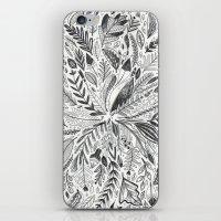 Botanic Pattern iPhone & iPod Skin