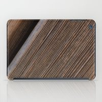 Wooden Beams iPad Case