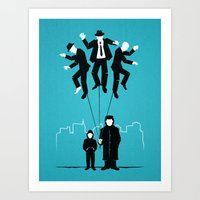 Because it's Cool. Art Print