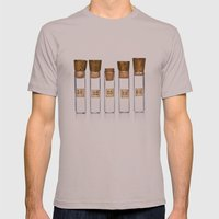 Lab Vials Mens Fitted Tee Cinder SMALL