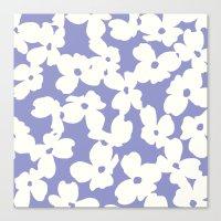 Dogwood: Lilac Tulip Canvas Print