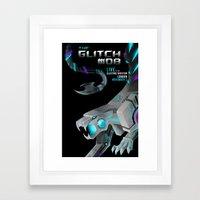 THE GLITCH MOB Framed Art Print