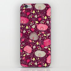 Fancy Floral iPhone & iPod Skin