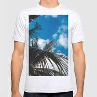 Sky Behind The Trees Mens Fitted Tee Ash Grey SMALL