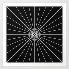 Big Brother (Inverted) Art Print