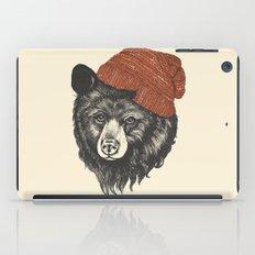 zissou the bear iPad Case