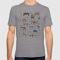 Things With Wheels Mens Fitted Tee Athletic Grey SMALL