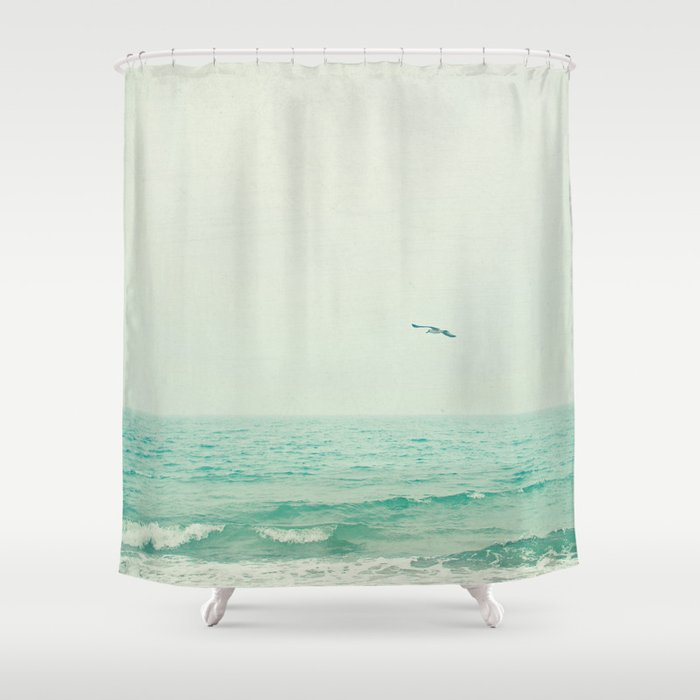 Lone Bird Shower Curtain By Cassia Beck Society6