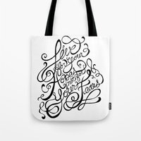 Live For Your Hopes Tote Bag