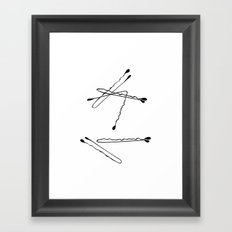 bobbies Framed Art Print
