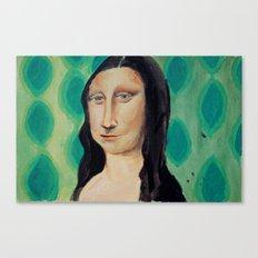 Retro Lisa Canvas Print