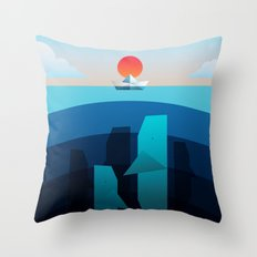 Oblivious Throw Pillow