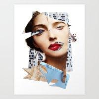 Make Me Beautiful | Coll… Art Print