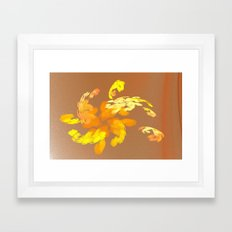 in the sand Framed Art Print