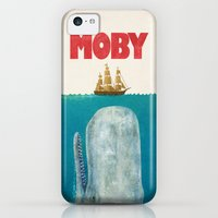 iPhone 5c Cases featuring Moby  by Terry Fan
