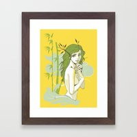 The Strong and The Beautiful Framed Art Print