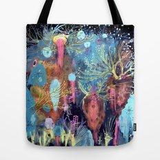 Space Hive Tote Bag