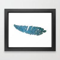 shablamers Framed Art Print