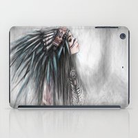 Walking Through Fog iPad Case