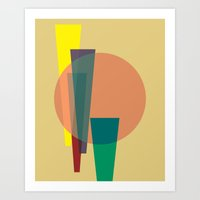 Cacho Shapes XXIV Art Print