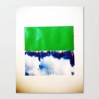 SKY/GRN Canvas Print