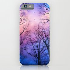 A New Day Will Dawn  (Day Tree Silhouettes) iPhone 6 Slim Case