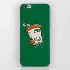 Pumpkin Spice Latte Bot iPhone & iPod Skin