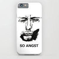 iPhone & iPod Case featuring ANGST by Elizabeth Wyatt
