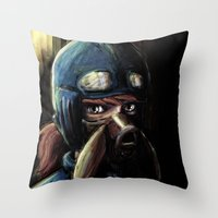 Nausicaa of the Valley of the Wind Throw Pillow