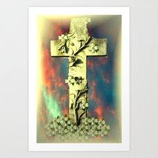 Cross Art Print