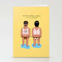 SUMMERTIME tips & trends Stationery Cards