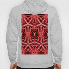 Electric Red Pattern Hoody