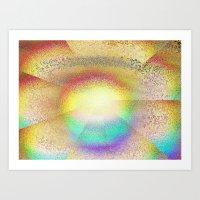 Play Of Light And Glass Art Print