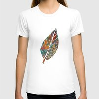 autumn T-shirts featuring Autumn Pattern by Klara Acel