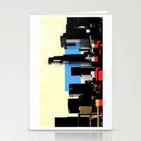 los angeles Stationery Cards featuring Los Angeles by Amy Smith - ColorScape