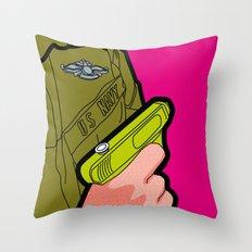 Pop Icon - War Machine Throw Pillow