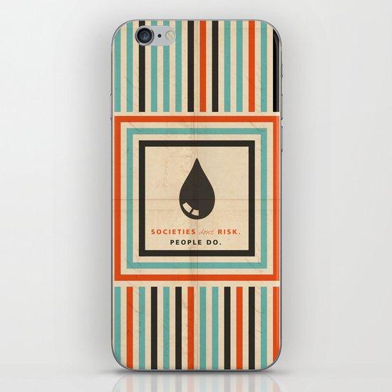 risk iPhone & iPod Skin
