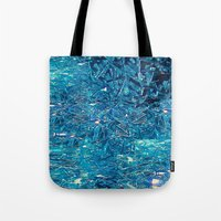 Broken And Blue Tote Bag