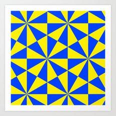 Geometry 1 Art Print