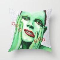 Close Up 7 Throw Pillow