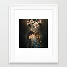 Gentle Sin Framed Art Print