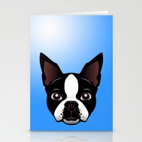 boston Stationery Cards featuring boston by the art of dang