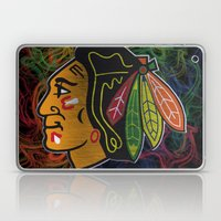 blackhawks swirl  Laptop & iPad Skin